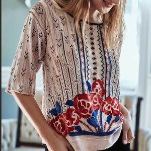 Moulinette Soeurs Anthro Posey Top